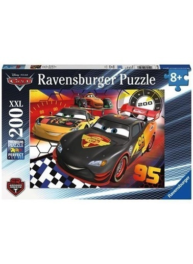 Ravensburger Ravensburger Puzzle 200 Parça Wd-Cars  Renkli